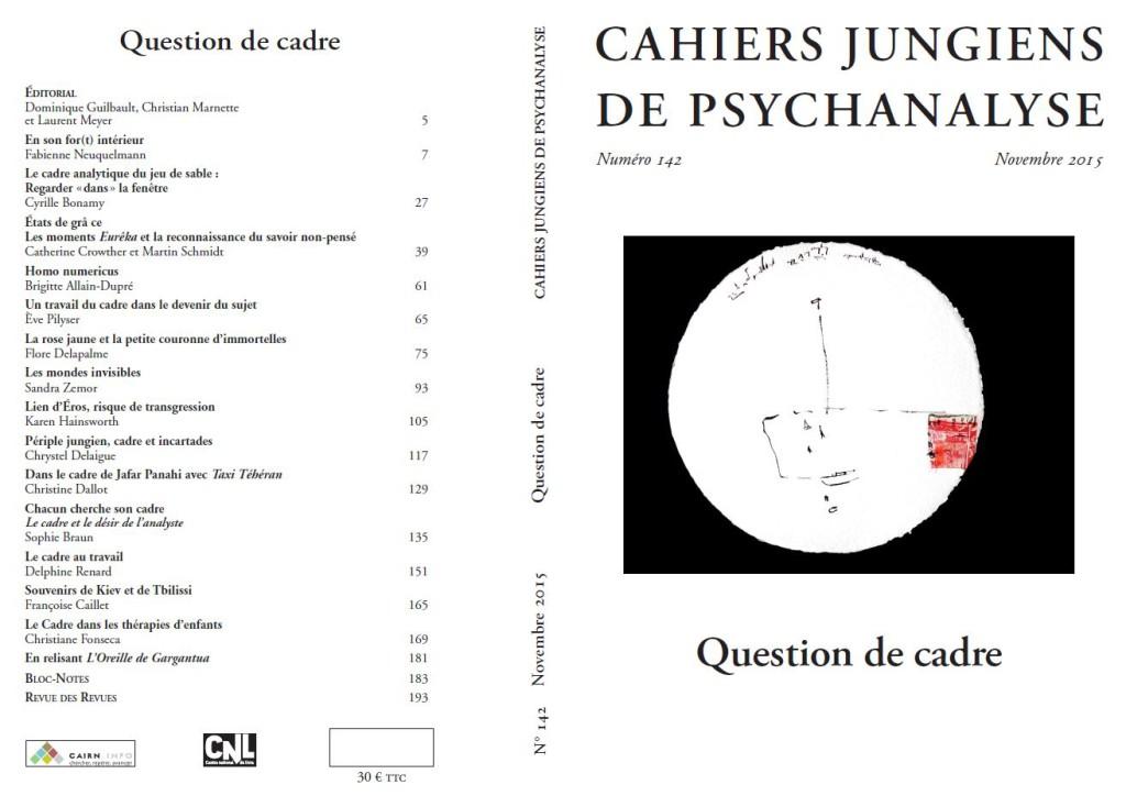 Les Cahiers Jungiens N 142 November 2015
